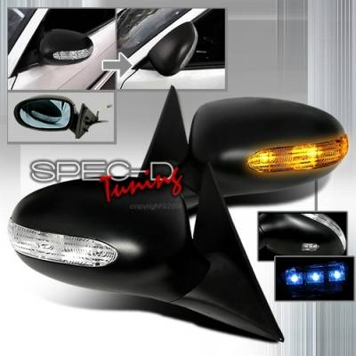 Custom Disco - BMW 3 Series Custom Disco with LED Euro Power Fold Mirrors - RMU-E46994P