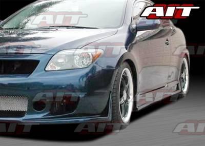 AIT Racing - Scion tC AIT Zen Style Side Skirts - SC04HIZENSS