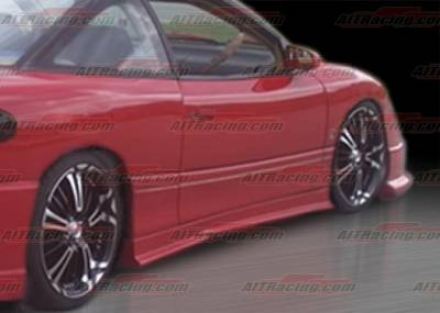 AIT Racing - Saturn SC Coupe AIT Racing SF1 Style Side Skirts - SC293HIM3SSS