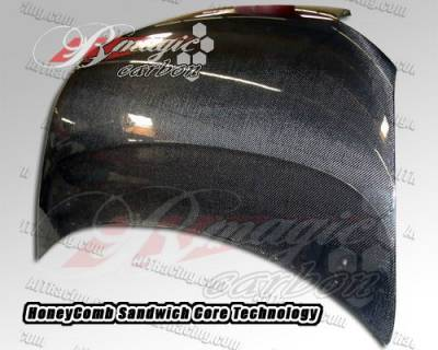 AIT Racing - Scion xD BMagic OEM Style Carbon Fiber Hood - SD08BMCFH