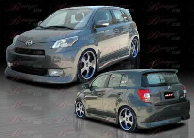 AIT Racing - Scion xD AIT Racing Presidente Style Body Kit - SD08BMPRECK