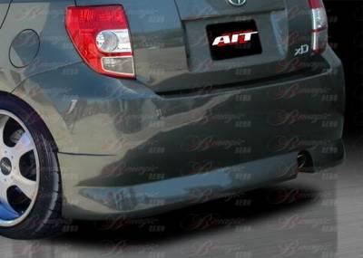 AIT Racing - Scion xD BMagic Presidente Series Rear Bumper - SD08BMPRERB