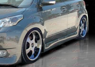 AIT Racing - Scion xD BMagic Presidente Series Side Skirts - SD08BMPRESS