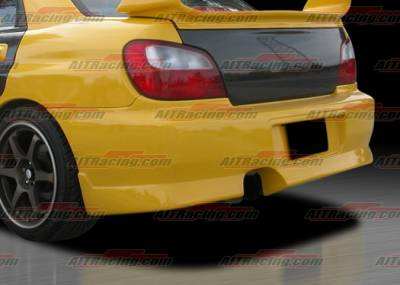AIT Racing - Subaru Impreza AIT Racing Charger Style Rear Bumper - SI02HICHGRB