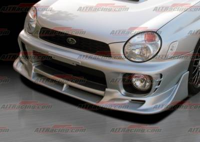 AIT Racing - Subaru Impreza AIT Racing CW Style Front Bumper - SI02HICWSFB