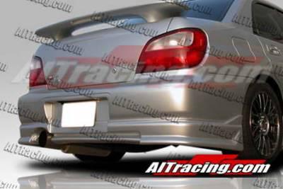 AIT Racing - Subaru Impreza AIT Racing CW Style Rear Bumper - SI02HICWSRB