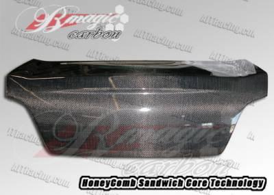 AIT Racing - Subaru Impreza AIT Racing OEM Style Carbon Fiber Trunk - SI04BMCFT