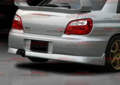 AIT Racing - Subaru Impreza AIT Racing Charger Style Rear Bumper - SI04HICHGRB
