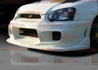 AIT Racing - Subaru Impreza AIT Racing I-spec Style Front Bumper - SI04HIINGFB