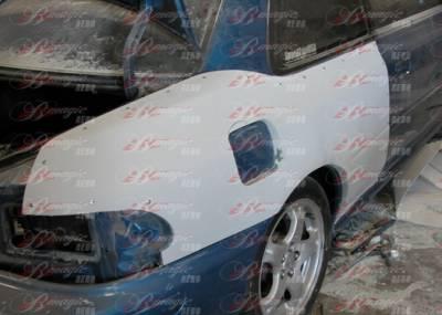AIT Racing - Subaru Impreza AIT Racing B22 Style Wide Quarter Panel - SI93BMB22RF2