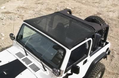 Warrior - Jeep Wrangler Warrior Breezer Top - 1115