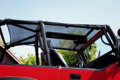 Warrior - Jeep Wrangler Warrior Maxi Breezer Top - 1135
