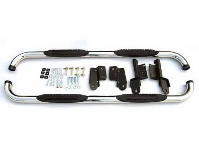 4 Car Option - Ford F150 4 Car Option Stainless Steel Side Bar - SSB-FD-0712