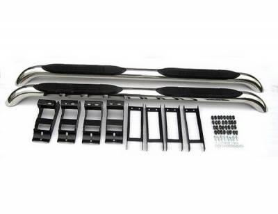 4 Car Option - Honda CRV 4 Car Option Stainless Steel Side Bar - SSB-HD-CRV07