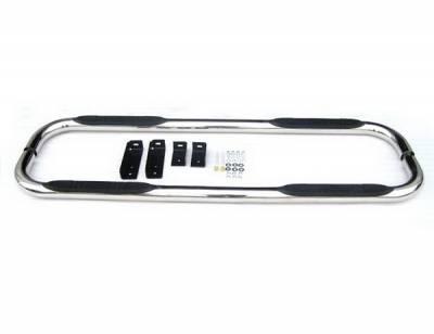4 Car Option - Nissan Titan 4 Car Option Stainless Steel Side Bar - SSB-NS-0468