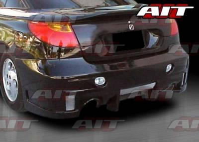 AIT Racing - Saturn SC Coupe AIT EVO Style Rear Bumper - SSC01HIEVORB