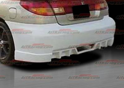 AIT Racing - Saturn SC Coupe AIT EVO Style Rear Bumper - SSC97HIEVORB