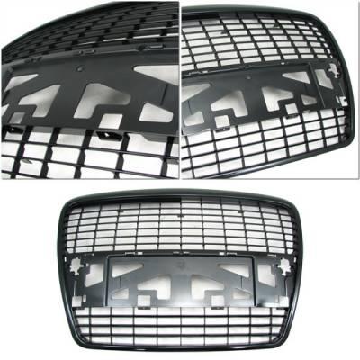 Custom - Black Grill Grille - Sedan