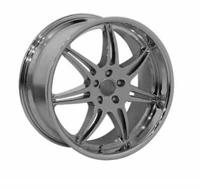 Custom - 19 Inch 7X2 Style - Audi 4 Wheel Set