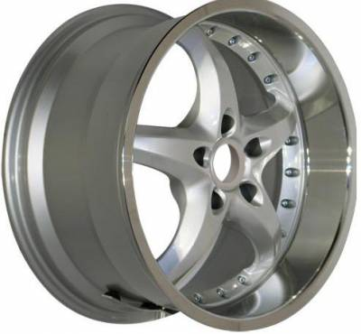 Custom - 18 Inch Neo5 Silver - 4 Wheel Set