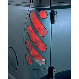 V-Tech - Dodge Ram V-Tech Taillight Covers - Diagonal Style - 2370