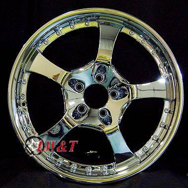 Custom - 18 inch style 224 - 4 wheel set