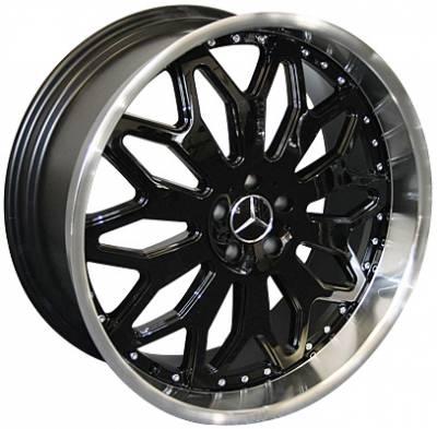Custom - 22 Inch Metallic Black 4 Wheel Set