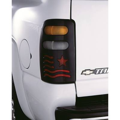 V-Tech - Chevrolet Suburban V-Tech Taillight Covers - Patriot Style - 2858