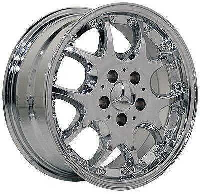 Custom - 16 Inch Chrome - 4 Wheel Set