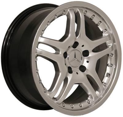 Custom - 17 Inch X3 Hyper Silver - 4 Wheel Set