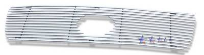 APS - Toyota Tundra APS Phat Grille - with Logo Opening - Upper - Stainless Steel - T65458T
