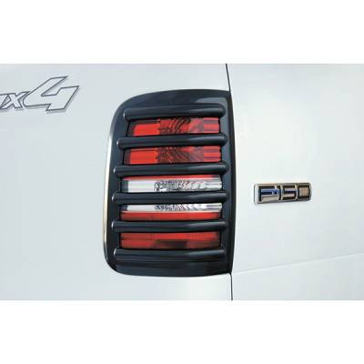 V-Tech - Ford F150 V-Tech Taillight Covers - Tuff Cover Style - 5075
