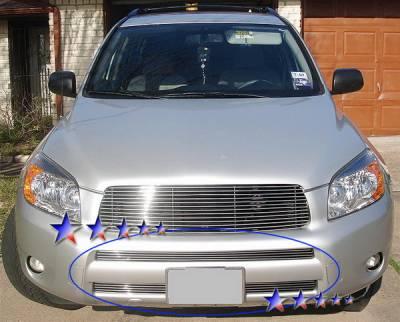 APS - Toyota Rav 4 APS Billet Grille - Bumper - Stainless Steel - T66461S