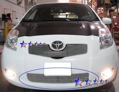APS - Toyota Yaris APS Billet Grille - Bumper - Aluminum - T66599A