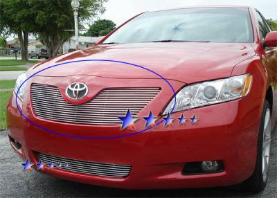 APS - Toyota Camry APS Billet Grille - Upper - Aluminum - T85214A