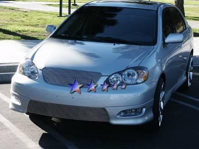 APS - Toyota Corolla APS Billet Grille - Bumper - Aluminum - T85383A