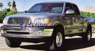APS - Toyota Tundra APS Billet Grille - 14 Bar - Upper - Aluminum - T85394A