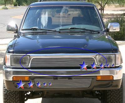APS - Toyota 4Runner APS Billet Grille - Upper - Aluminum - T85479A