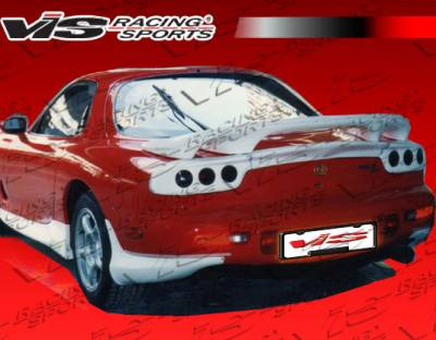VIS Racing - Mazda RX-7 VIS Racing RE Taillight Cover - Fiberglass - 93MZRX72DRE-032