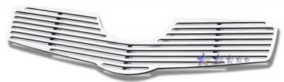 APS - Toyota Yaris APS CNC Grille - Upper - Aluminum - T95450A