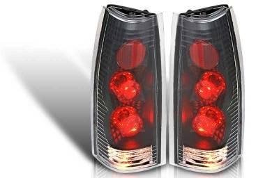 WinJet - Chevrolet CK Truck WinJet Altezza Taillight - Black & Clear - WJ20-0003-04