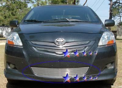 APS - Toyota Yaris APS CNC Grille - Bumper - Aluminum - T95531R