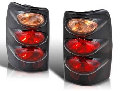 WinJet - Chevrolet Tahoe WinJet Altezza Taillight - Black & Clear - WJ20-0005-04