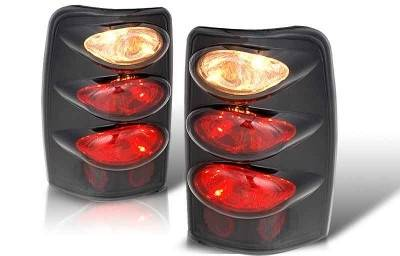 WinJet - Chevrolet Tahoe WinJet Altezza Taillight - Black & Smoke - WJ20-0005-05