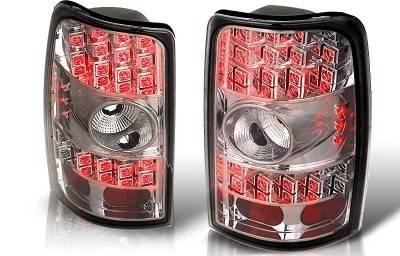 WinJet - Chevrolet Suburban WinJet LED Taillight - Chrome & Smoke - WJ20-0007-02