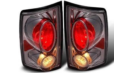 WinJet - Dodge Ram WinJet Altezza Taillight - Chrome & Smoke - WJ20-0011-02