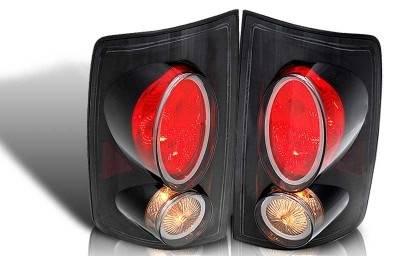 WinJet - Dodge Ram WinJet Altezza Taillight - Black & Smoke - WJ20-0011-05