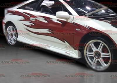 AIT Racing - Toyota Celica AIT Racing VS-EK6 Style Side Skirts - TC00HIVSEK6SS