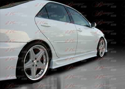 AIT Racing - Toyota Camry AIT Racing Wondrous Style B-Magic Side Skirts - TC03BMGLSSS