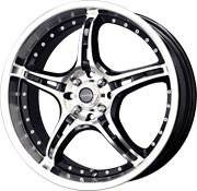 Custom - Merkur - 17 Inch 4 Wheel Set